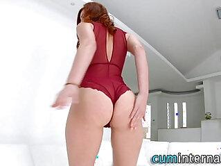 Creampie loving ho anal