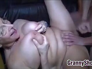 Granny With sexy Glasses Wants To Be Fucked
