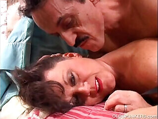 Debella is a saucy old spunker in stockings who loves fuck