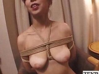 Japanese wife extreme bondage vibrator play Subtitles