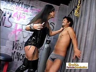 Ice La Fox Abuses A Helpless Loser
