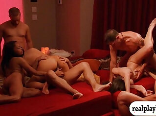 Horny nasty game and groupsex