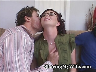 Hot Wifes Hubby Is A Piggy