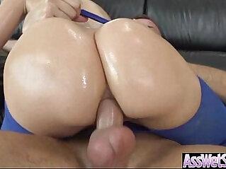 Anal Sex Tape With Curvy Big Ass Oiled butt Girl anikka albrite vid at तेल वाली niche