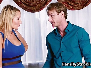 Mom Teaches Daughter How To Suck Using Step Dads Cock