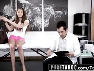 PURE TABOO Elena Koshka Breaks Hymen with Dirty mind Doctor