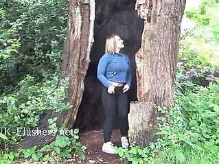 Sexy Ashley Rider flashing and voyeur babes showing tits in public