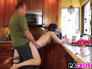 Daddys Breakfast Surprise With Avery Moon