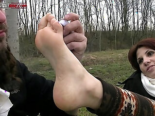 In the Country With Foot Fetish Humiliation