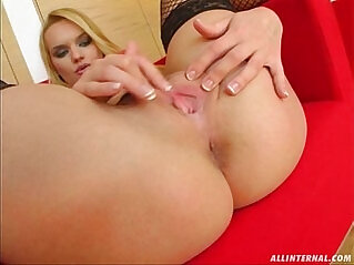 All Internal Two guys nail a cunt and cum oozes all out of her