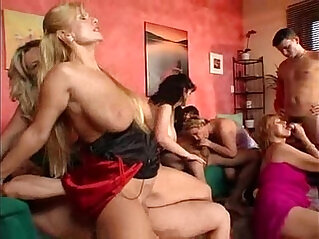 Group Sex Matures with Tits
