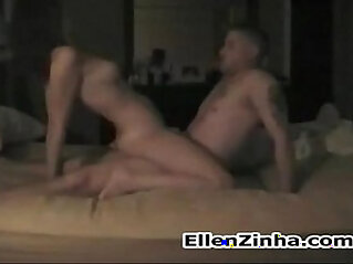 Wife having mutual orgasm with stud