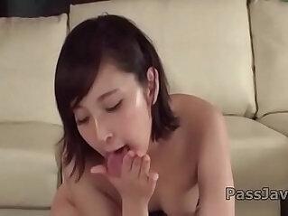 Uika Hoshikawa gives head then gets on fucking like crazy
