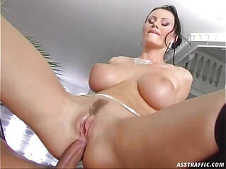 Ass Traffic huge big tits fucked and double penetrated at huge asses niche