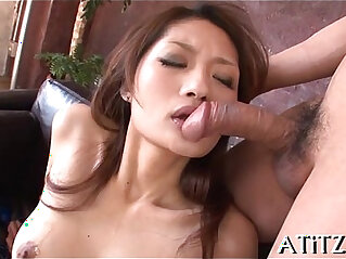 Exquisite threesome for breasty oriental at oriental niche