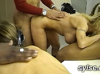 Bbc orgy i office and thressome in workshop