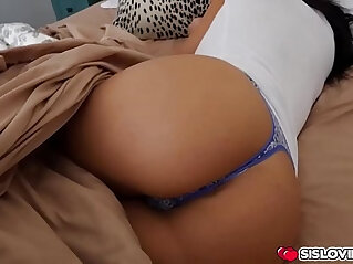 Aidra Fox gets pounded in the bedroom by her step bro at bedroom niche
