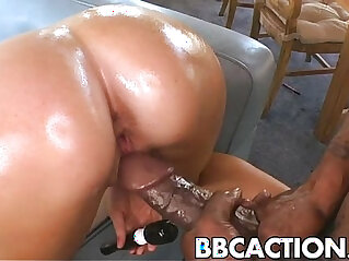 India Summer gets her tits fucked hard