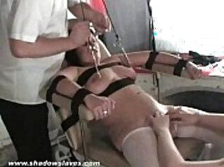 Filthy Shaz medical fetish and doctors electro bdsm of nipple tortured p