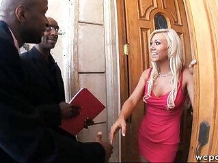 Interracial Anal DP Business