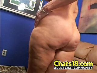 You gotta love this hairy pussy porn clip granny fucking