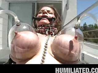 Busty Junes Husband Humiliates Her