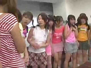 japanese schoolgirls attacked teachers