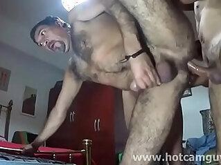 Chilean Daddy Gets Banged