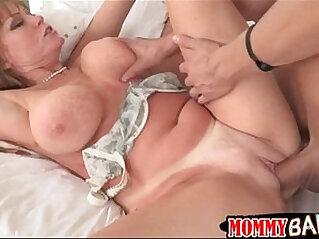 Busty stepmom Darla Crane ass fucked horny guy and GF