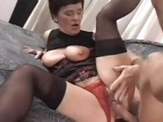 Cum for granny