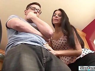 Stepmom wants her stepsons big hard cock